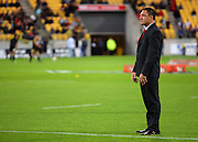 Crusaders assistant coach Mark Hammett.<br /> Super 14 rugby match - Hurricanes v Crusaders at Westpac Stadium, Wellington. Friday, 2 April 2010. Photo: Dave Lintott/PHOTOSPORT
