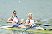 Caversham, Great Britain.  GBR M2- Bow peter REED and Andy TRIGGS HODGE. GB Rowing media day, GB Rowing Training Centre, Caversham. Tuesday,  18/05/2010 [Mandatory Credit. Peter Spurrier/Intersport Images]