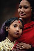 Three nuptials of the Newar, Nepal