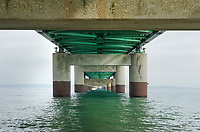 Mackinac bridge detail