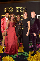 September 17, 2018 - West Hollywood, Kalifornien, USA - Darrell Britt-Gibson, Paula Newsome, Kirby Howell-Baptiste, D'Arcy Carden und Anthony Carrigan bei der HBO Aftershow Party der 70. Primetime Emmy Awards im Pacific Design Center. West Hollywood, 17.09.2018 (Credit Image: © Future-Image via ZUMA Press)