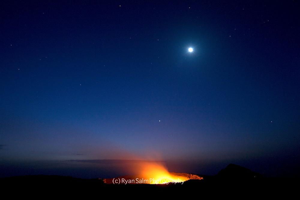 Erte Ale Volcano at dawn