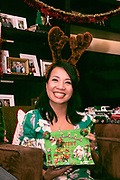 Kristine Huang with her winning card