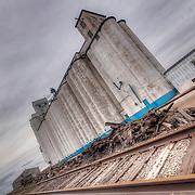 Grain Elevators in Zenith, Kansas.