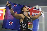 ATHLETICS - IAAF WORLD CHAMPIONSHIPS 2011 - DAEGU (KOR) - DAY 3 - 29/08/2011 - WOMEN SHOT PUT FINAL - VALERIE ADAMS (NZL) / WINNER - PHOTO : FRANCK FAUGERE / KMSP / DPPI