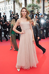 Fernanda Liz arriving on the red carpet of 'La Belle Epoque' screening held at the Palais Des Festivals in Cannes, France on May 20, 2019 as part of the 72th Cannes Film Festival. Photo by Nicolas Genin/ABACAPRESS.COM