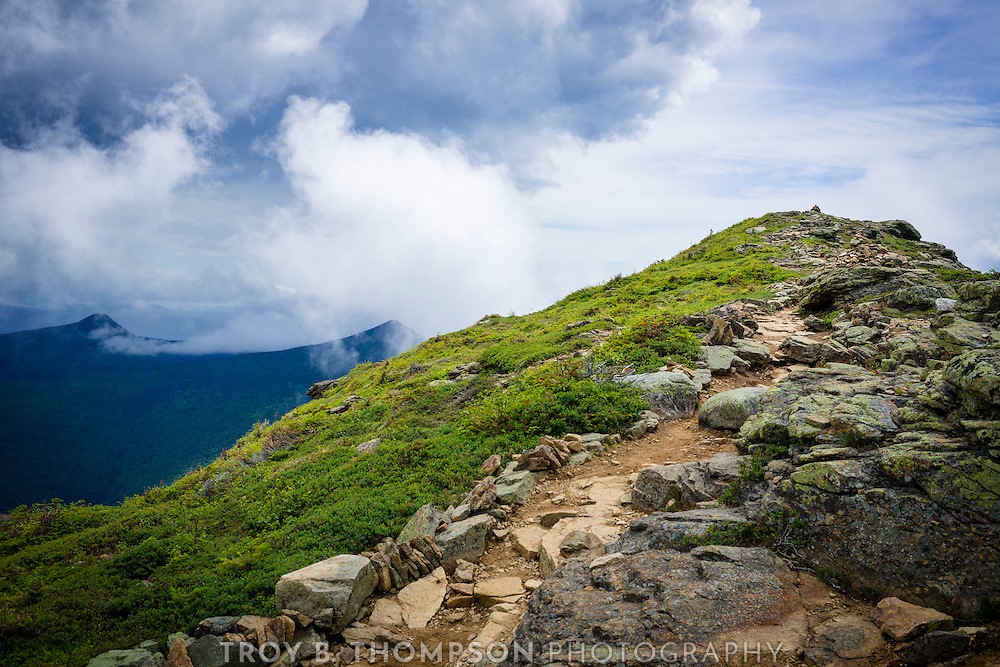 A long day of hiking several mountain peaks along the Franconia Ridge Traverse, but worth it for the amazing views.