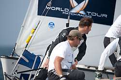 AInslie vs Pace. Danish Open 2010, Bornholm, Denmark. World Match Racing Tour. photo: Loris von Siebenthal - WMRT