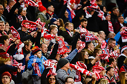 November 15, 2018 - Gdansk, Poland, Polish supporters during football friendly match between Poland - Czech Republic at the Stadion Energa in Gdansk, Poland