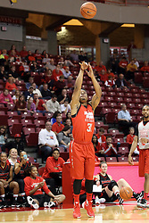 23 October 2015: Javaka Thompson(31). Illinois State Hoopfest is an annual pre-season event to introduce the team to the fans.