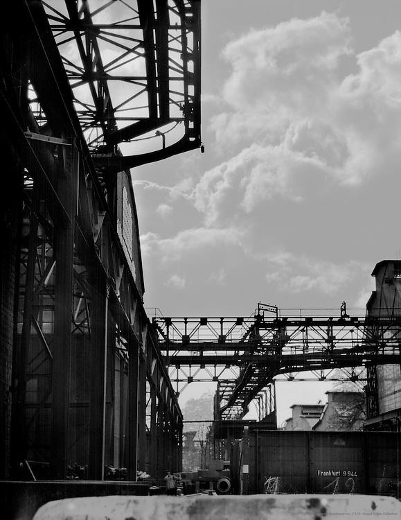 Exterior of Factory With Cloudy Sky, Borsig-Werke, Berlin, 1928