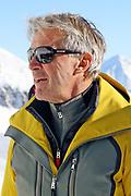 Bernhard Russi anlässlich der Einweihung der Skigebietsverbindung Andermatt-Sedrun