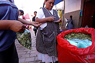 Dealing coca on the bolivian streets