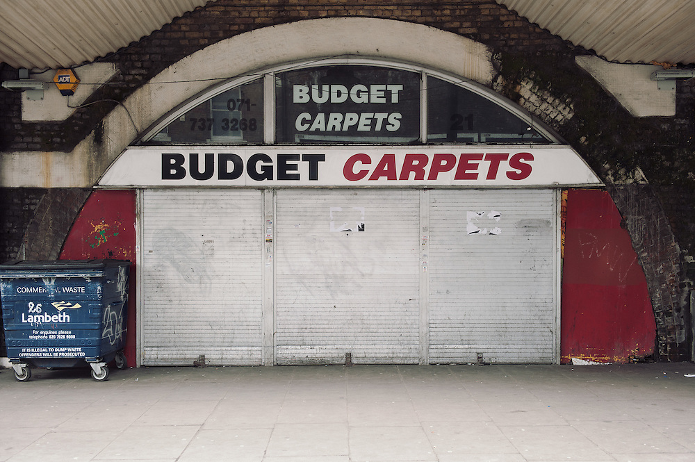 Budget Carpets. <br /> 21 Atlantic Road.<br /> <br /> Raymond Murphy opened his business 25 years ago. He employs 4 people in the shop plus 3 carpet fitters, and at the back there is a small concession where 9 people work.