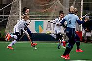 LAREN -  Hockey Hoofdklasse Dames: Laren v Pinoké, seizoen 2020-2021. Foto: Maria Steensma (Pinoké)