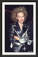 kylie minogue Piccadilly London 1994<br /> A2 Museum-quality Archival signed Framed Print