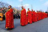 Masters Attend Groundbreaking Ceremony For Expansion Of Shimen Temple