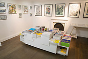Interior of Magma creative concept shop on 2nd November 2015 in London, United Kingdom. Selling books, magazines, quirky design goods with unique gallery space.