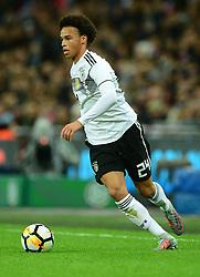 Leroy Sane of Germany- Mandatory by-line: Alex James/JMP - 10/11/2017 - FOOTBALL - Wembley Stadium - London, United Kingdom - England v Germany - International Friendly