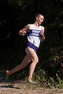 Central Valley, New York - Monroe-Woodbury's Jack Jibb leads the varsity boys race the first annual Crusader Classic invitational cross country meet on Sept. 27, 2014. Jibb finished first with a time of 16 minutes, 24.71 seconds on the 3.1-mile course.