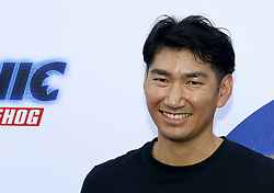 Haruki Satomi, SEGA CEO at the Los Angeles premiere of 'Sonic the Hedgehog' held at Paramount Theatre in Los Angeles, USA on January 25, 2020.