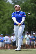 Ariya Jutanugarn (THA) watches her tee shot on 2 during round 2 of the 2019 US Women's Open, Charleston Country Club, Charleston, South Carolina,  USA. 5/31/2019.<br /> Picture: Golffile | Ken Murray<br /> <br /> All photo usage must carry mandatory copyright credit (© Golffile | Ken Murray)