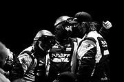 March 20, 2021. IMSA Weathertech Mobil 1 12 hours of Sebring: #9 PFAFF Motorsports Porsche 911 GT3 R, GTD: mechanics