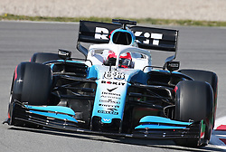 March 1, 2019 - Barcelona, Spain - the Williams of Robert Kubica during the Formula 1 test in Barcelona, on 01st March 2019, in Barcelona, Spain. (Credit Image: © Joan Valls/NurPhoto via ZUMA Press)