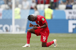 Abdiel Arroyo of Panama during the 2018 FIFA World Cup Russia group G match between England and Panama at the Nizhny Novgorod stadium on June 24, 2018 in Nizhny Novgorod, Russia