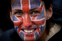 © Licensed to London News Pictures. 03/06/2012. London, Britain.The Royal Jubilee celebrations. Great Britain is celebrating the 60th  anniversary of the countries Monarch HRH Queen Elizabeth II accession to the throne this weekend Photo credit : Thomas Campean/LNP