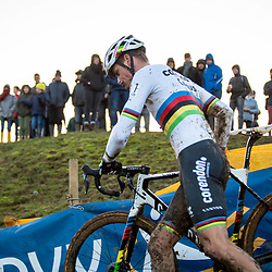 2019-12-14 Cycling: dvv verzekeringen trofee: Ronse: Mathieu van der Poel pictured during the Hotondcross