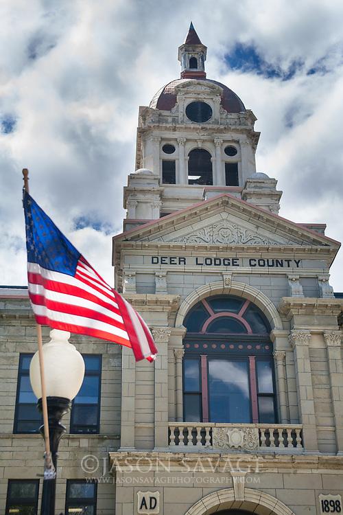 Deer Lodge Courthouse, Montana.