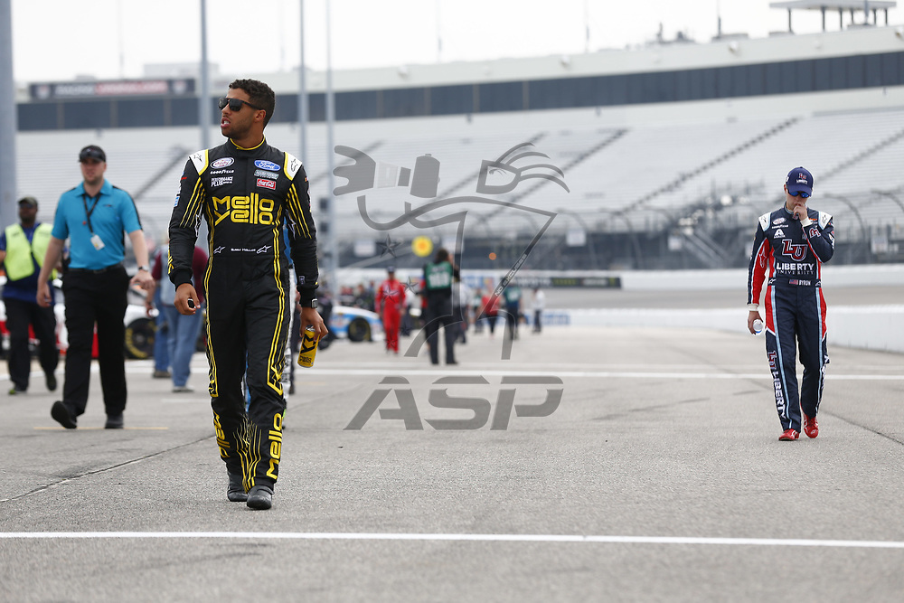 April 29, 2017 - Richmond, Virginia, USA: Darrell Wallace Jr (6) hangs out on pit road prior to qualifying for the ToyotaCare 250 at Richmond International Speedway in Richmond, Virginia.