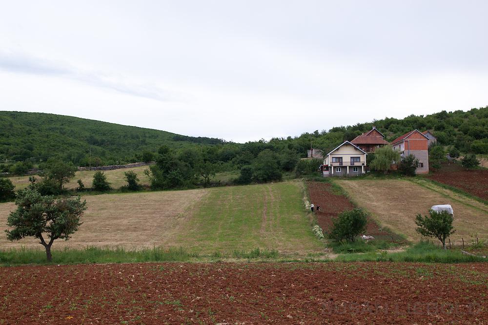 Countryside, Kosovo.