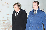 Pedro Borbon-Dos Sicilias, Jaime Borbon-Dos Sicilias attends Princess PIlar Borbon funeral chapel  installed in the Gomez-Acebo house on January 8, 2020 in Madrid, Spain
