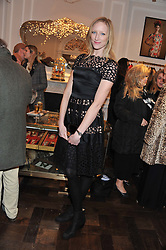 JADE PARFITT at a party to celebrate thelaunch of Alice Temperley's flagship store Temperley, Bruton Street, London on 6th December 2012.