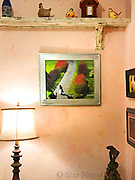 SOLD piece <br /> exhibited in Client's home:<br /> <br /> Memory lane, New Paltz by Star Nigro<br /> <br /> NY Tree house view of a wedding at the Mohonk Mountain House.<br /> <br /> © 2021 All artwork is the property of STAR NIGRO.  Reproduction is strictly prohibited.