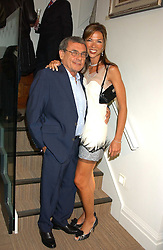 SOL & HEATHER KERZNER at a party hosted by the Gussalli Beretta family to celebrate the opening of the new Beretta store, 36 St.James's Street, London SW1 on 10th January 2006.<br /><br />NON EXCLUSIVE - WORLD RIGHTS