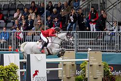 Pedersen Sören, DEN, Chico Z<br /> European Championship Riesenbeck 2021<br /> © Hippo Foto - Dirk Caremans<br />  01/09/2021