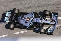 March 1, 2019 - Barcelona, Catalonia, Spain - Lewis Hamilton of Great Britain with 44 Mercedes AMG Petronas Motorsport W10 in action during the Formula 1 2019 Pre-Season Tests at Circuit de Barcelona - Catalunya in Montmelo, Spain on March 1. (Credit Image: © Xavier Bonilla/NurPhoto via ZUMA Press)