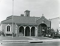 1929 Fire Station on Seward St. between Melrose Ave. & Santa Monica Blvd.