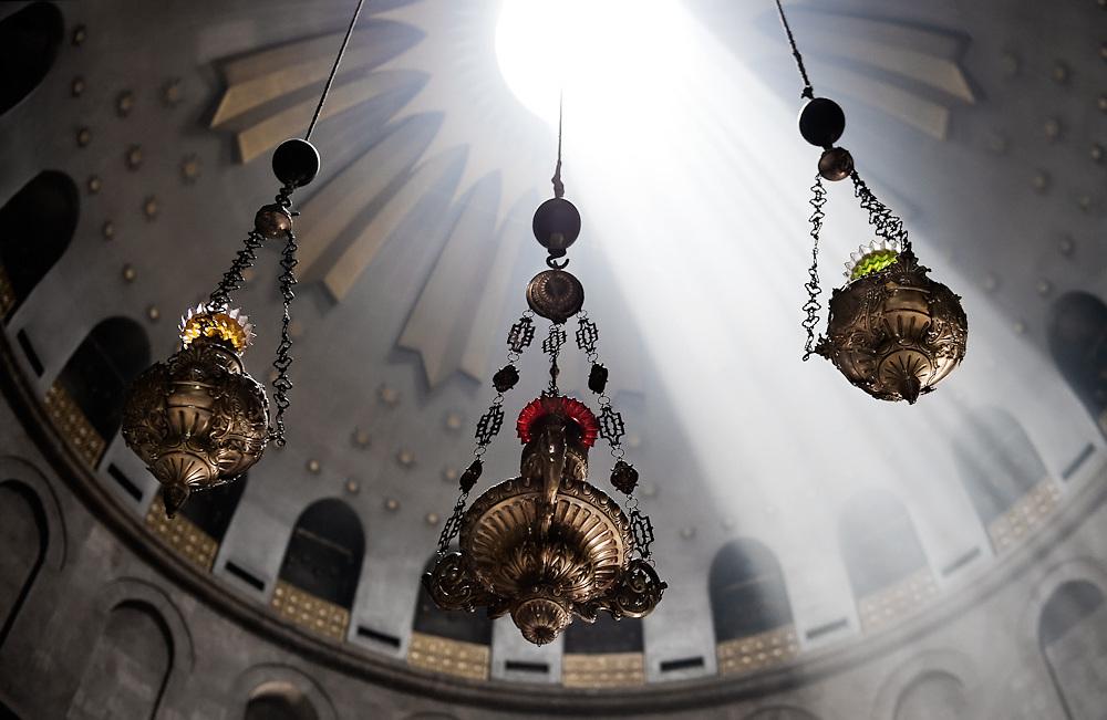 The Holy Sepulcher, Jerusalem, Israel 2009