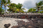Aloha sign, Hookena, Big Island of Hawaii