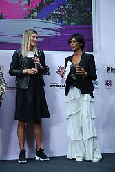 FRANCESCA PICCININI E CONSUELO MANGIFESTA<br /> PRESENTAZIONE CAMPIONATO PALLAVOLO FEMMINILE SERIE A 2019-2020<br /> FOTO FILIPPO RUBIN / LVF