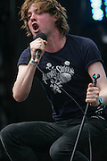 CHICAGO, IL - AUGUST 9: The Kaiser Chiefs perform at 2009 Lollapalooza Music Festival on August 9, 2009 in Grant Park, Chicago, Illinois. Photo by Bryan Rinnert/3Sight Photography