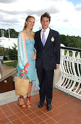 LADY ALEXANDRA GORDON-LENNOX and the HON.JAMES TOLLEMACHE at the 4th day of the 2005 Glorious Goodwood horseracing festival at Goodwood Racecourse, West Sussex on 29th July 2005.    <br /><br />NON EXCLUSIVE - WORLD RIGHTS