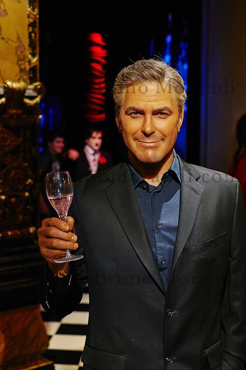 France, Paris (75), Musée Grévin, George Clooney // France, Paris, Grevin museum, George Clooney