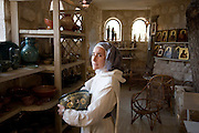 A nun, vowed to silence, in the Monastery of Beit Jamal, Israel<br /> The Salesian monastery of Beit Jamal was originally established as an agricultural school in 1881 and later operated as a medical facility. While there is a small group of nuns at Beit Jamal ? they do not belong to the Salesian Sisters, but rather to the Sisters of Bethlehem, of the Assumption of the Virgin and of Saint Bruno. These nuns have taken a vow of silence.