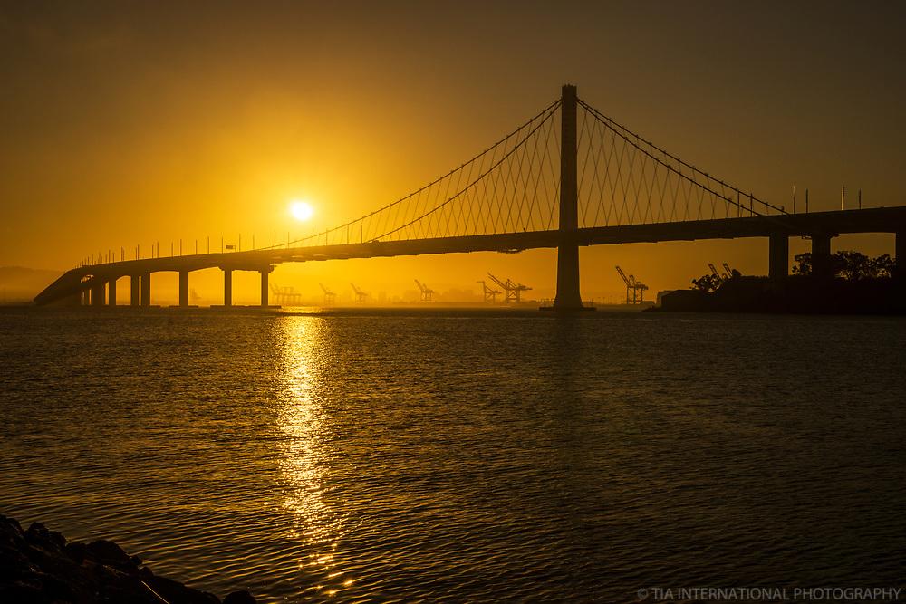 San Francisco-Oakland Bay Bridge, Treasure Island