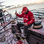 Leg 7 from Auckland to Itajai, day 17 on board MAPFRE, 03 April, 2018.